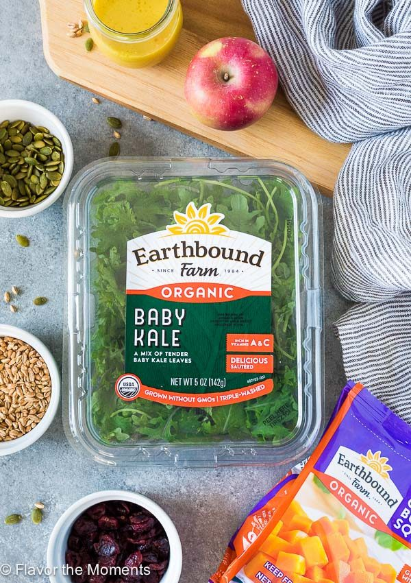 Earthbound farms baby kale