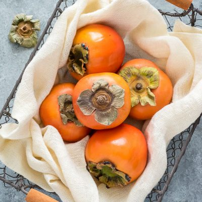 Produce of the Month Guide: Persimmons is an informative guide all about persimmons and a round up of 23 delicious persimmon recipes!