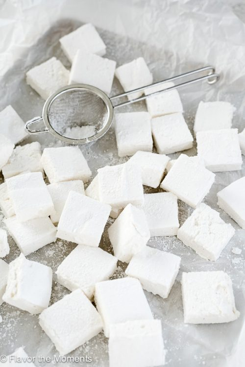 How to Make Marshmallows is an easy, step by step tutorial on how to make fluffy homemade marshmallows with only 3 ingredients!