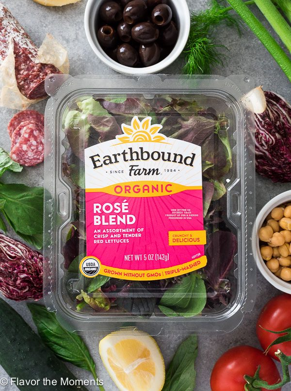 Earthbound Farms Rose Blend
