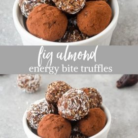 fig almond energy bite truffles collage