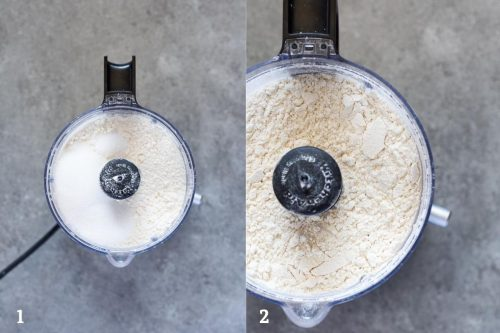 dry ingredients for food processor pie crust