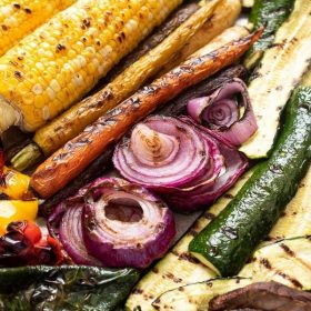 grilled vegetables pin
