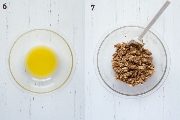 How to make oatmeal crumble