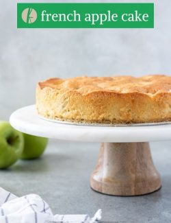 Easy french apple cake pin 2