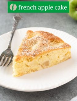 French Apple Cake pin 3
