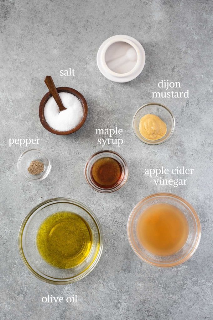 Apple cider vinegar dressing ingredients