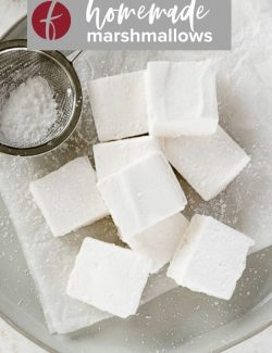 Homemade marshmallows pin 1