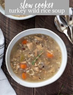 Turkey and wild rice soup pin 2