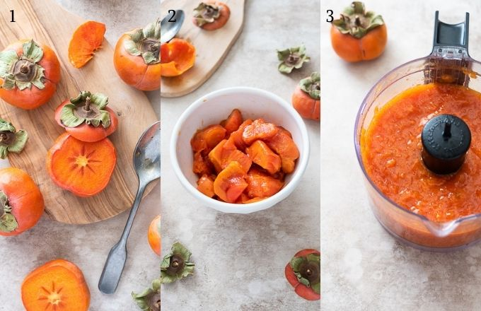 How to make persimmon puree