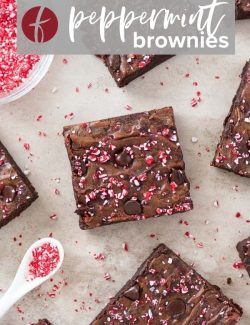 Peppermint brownies pin 1