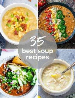 35 Best Soup Recipes collage