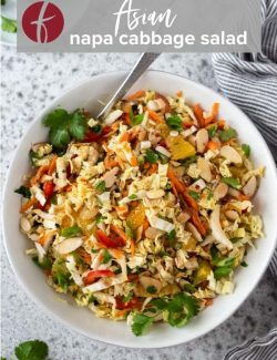 Asian Napa Cabbage Salad pin 2