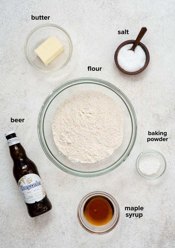 Beer bread recipe ingredients