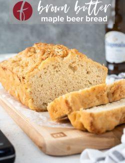 Beer bread recipe pin 2