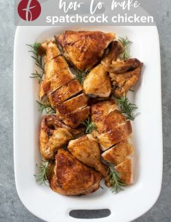 How to Spatchcock a Chicken Pinterest pin 2