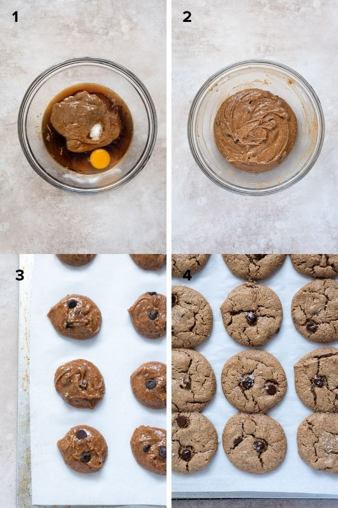 How to make almond butter cookies