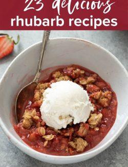 Rhubarb recipes pin 2