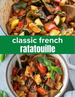 French ratatouille short collage pin