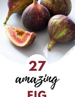 27 Fig recipes pin 1