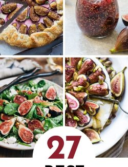 Fresh fig recipes collage pin 2