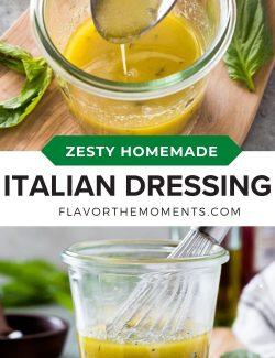 Italian dressing long collage pin