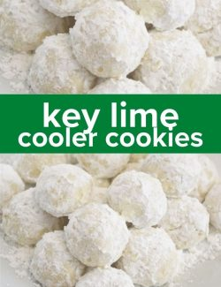 Key lime cooler cookies short collage pin