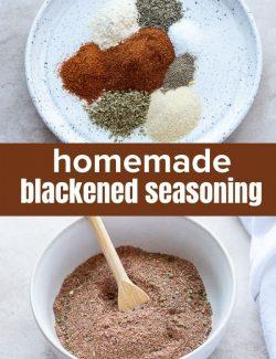 Homemade blackened seasoning short pin