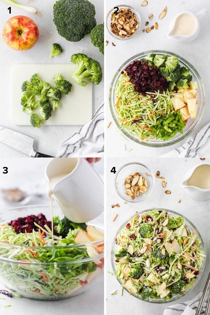 How to make broccoli slaw