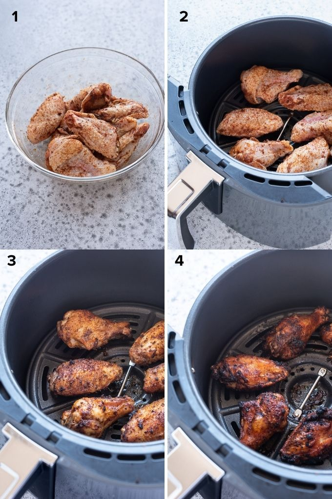 How to make chicken wings in air fryer